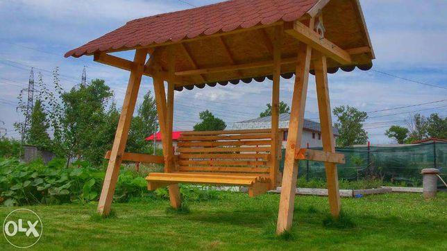 Balansoar / Leagan excelent din lemn pentru gradina