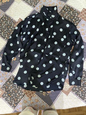 Рубашка шелковая Zara