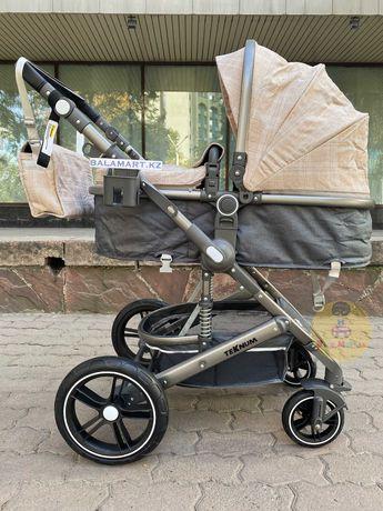 Детская коляска трансформер 3в1 Teknum 530W доставка бесплатно КЗ