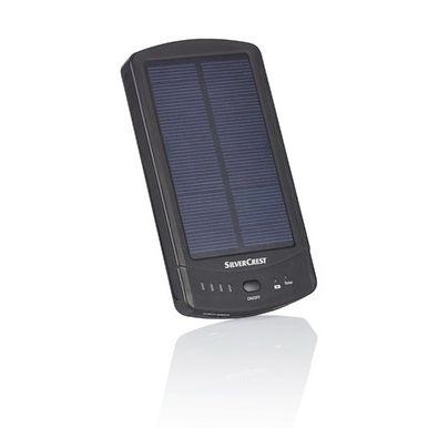 Powerbank SOLAR cu încărcare solară, si la priza (USB) - nou, Germania