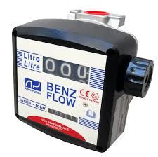 Debitmetru mecanic Benz Flow 3 digiti benzina,kerosen, mix+alcool Bucuresti - imagine 1