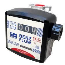 Debitmetru mecanic Benz Flow 3 digiti benzina,kerosen, mix+alcool