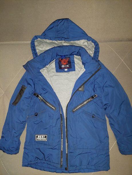 Продам детскую куртку для мальчика 7-9 лет