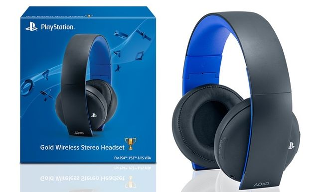 Headset ps4 wireless stereo