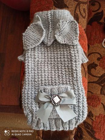 Вязанная одежда для собак и кошек