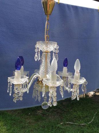 Candelabru cristal bohemia