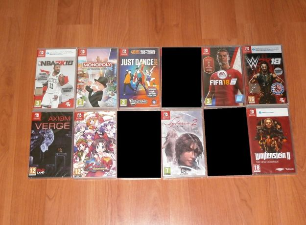 Jocuri Nintendo Switch - Doom , Wolfenstein II , Fifa , NBA ...