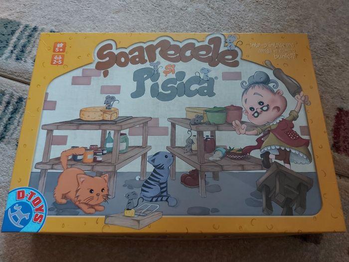 Joc Șoarecele și pisica Roscani - imagine 1