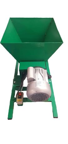 Zdrobitor electric de struguri, 240 - 500 Kg/Ora, Cuva 35 Litri ANNE