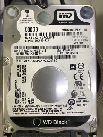 """Жесткий диск 500gb 2.5"""""""