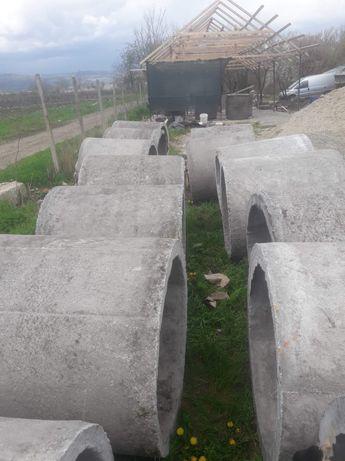 Tuburi beton de vânzare.