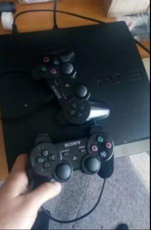 Playstation 3 хакнат - 2 джойстика и hdmi кабел