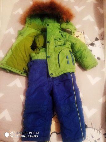 Куртка и комбинезон Kiko 86см(12-24мес.)+ Шапка