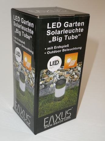 Led градинска соларна лампа, нова, немска, внос от Германия