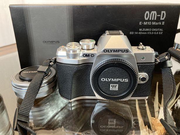 Aparat foto olympus om-d e-m10 mark 3