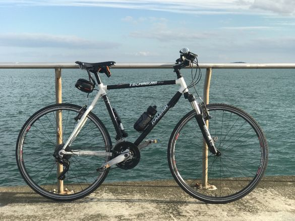"Хибриден ретро велосипед 28"""