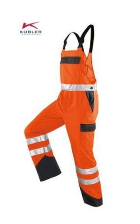 Pantaloni salopeta reflectorizanți, KUBLER REFLECTIQ, mărimea 46
