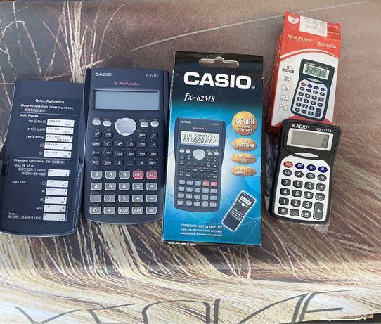 Калколатори и електроннен бележник CASIO