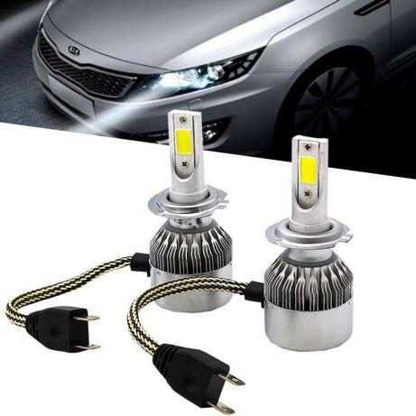 LED Крушки с вентилатор +150% по-ярки H7 H4 H1