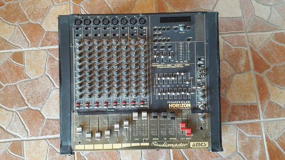 Продавам миксер с усилвател Студиомастер Хоризон 2-600вата