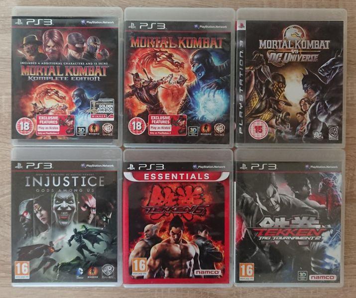 < PS3 > Mortal Kombat / Tekken 6 / WWE 2K16 Injustice за PlayStation 3 гр. Казанлък - image 1