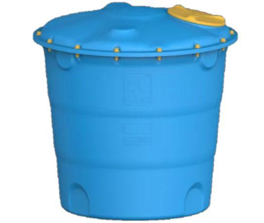 Емкость для воды Лепесток, бак, для строительства 5000л, 10000л