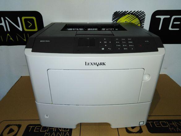 Реновиран лазерен принтер Lexmark MS610dn