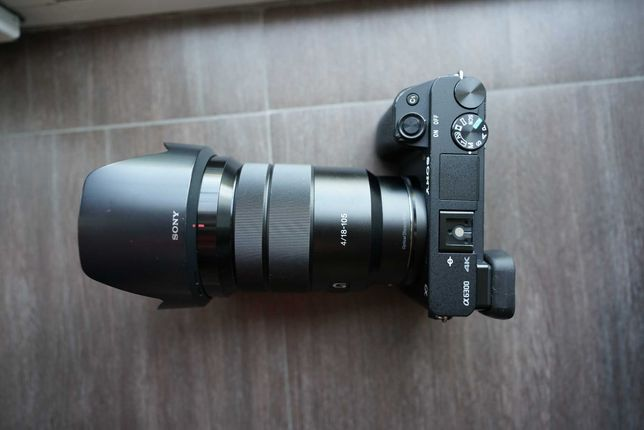 Sony A6300 с объективом SEL 18-105 G f4