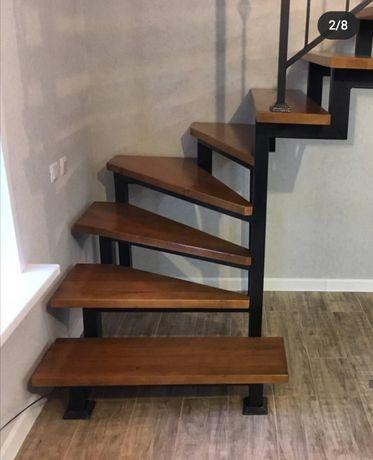 Лестницы из металла, кованые перила