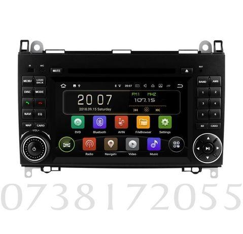 Navigatie Gps Android Mercedes Viano Sprinter Vito W209 W906 DVD MP3