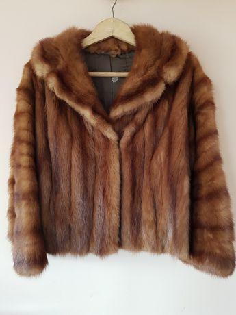 Дамско късо палто от визон