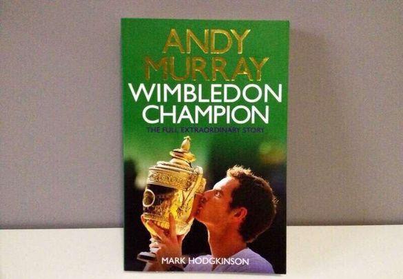 Книга Andy Murray - Wimbledon champion