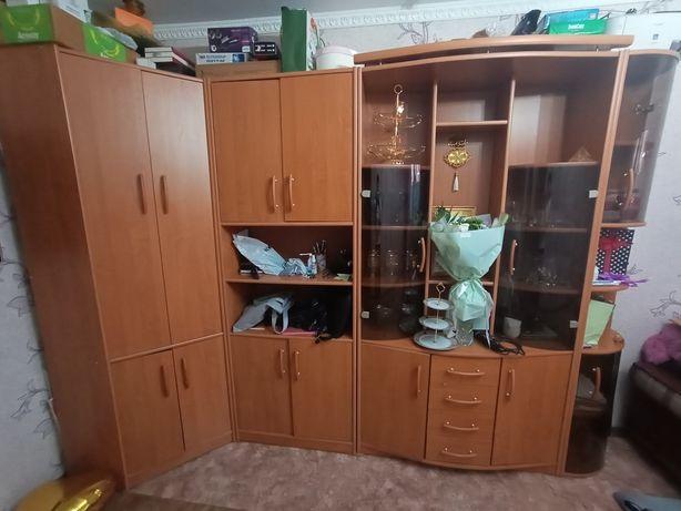 Шкаф модульный в зал