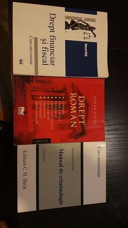 Carti de drept Criminologie Roman Fiscal Financiar