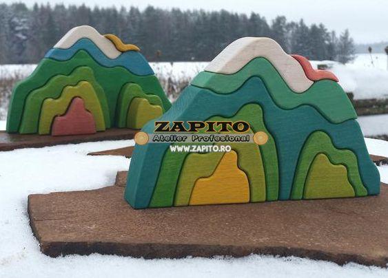 puzzle munte waldorf modele asortate