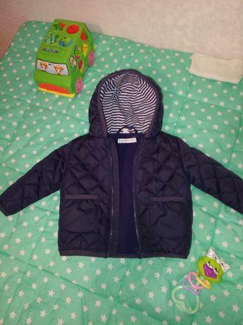 Демисезонная курточка на новорожденного