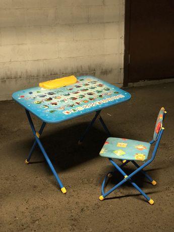 Комплект детской мебели, с азбукой Nika Kids