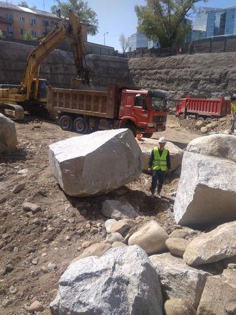 Ломаем камни валуны глыбы скалы Без взрывные НРС Гидро Разрушитель