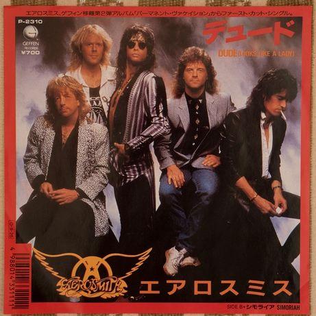 "Aerosmith - Dude (виниловая пластинка) 7"", сингл, 1st Japan, Near Mint"