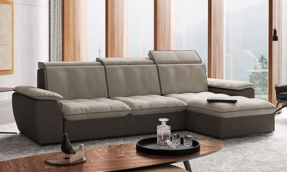 Уникален ъглов диван с функция сън
