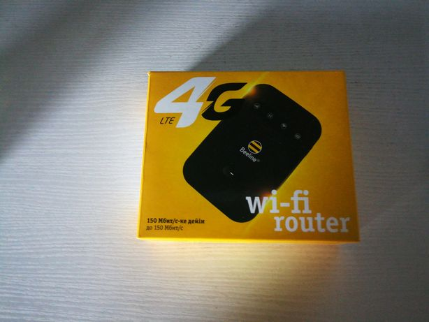 Wi-Fi роутер белайн новый