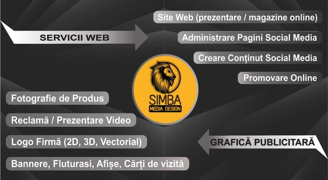 Productie Publicitara, site web, bannere, fluturasi, promovare online