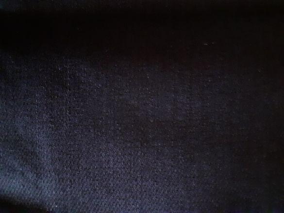 Тъмносин плат, еластичен