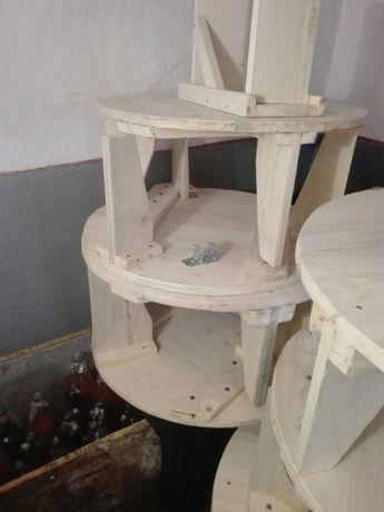 Mese lemn cu doua scaune