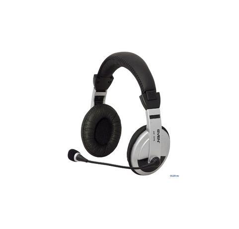 Наушники с микрофоном SVEN AP-875, Black-Silver
