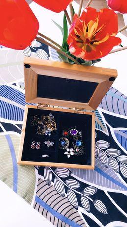 Cutie de bijuterii cu rama foto