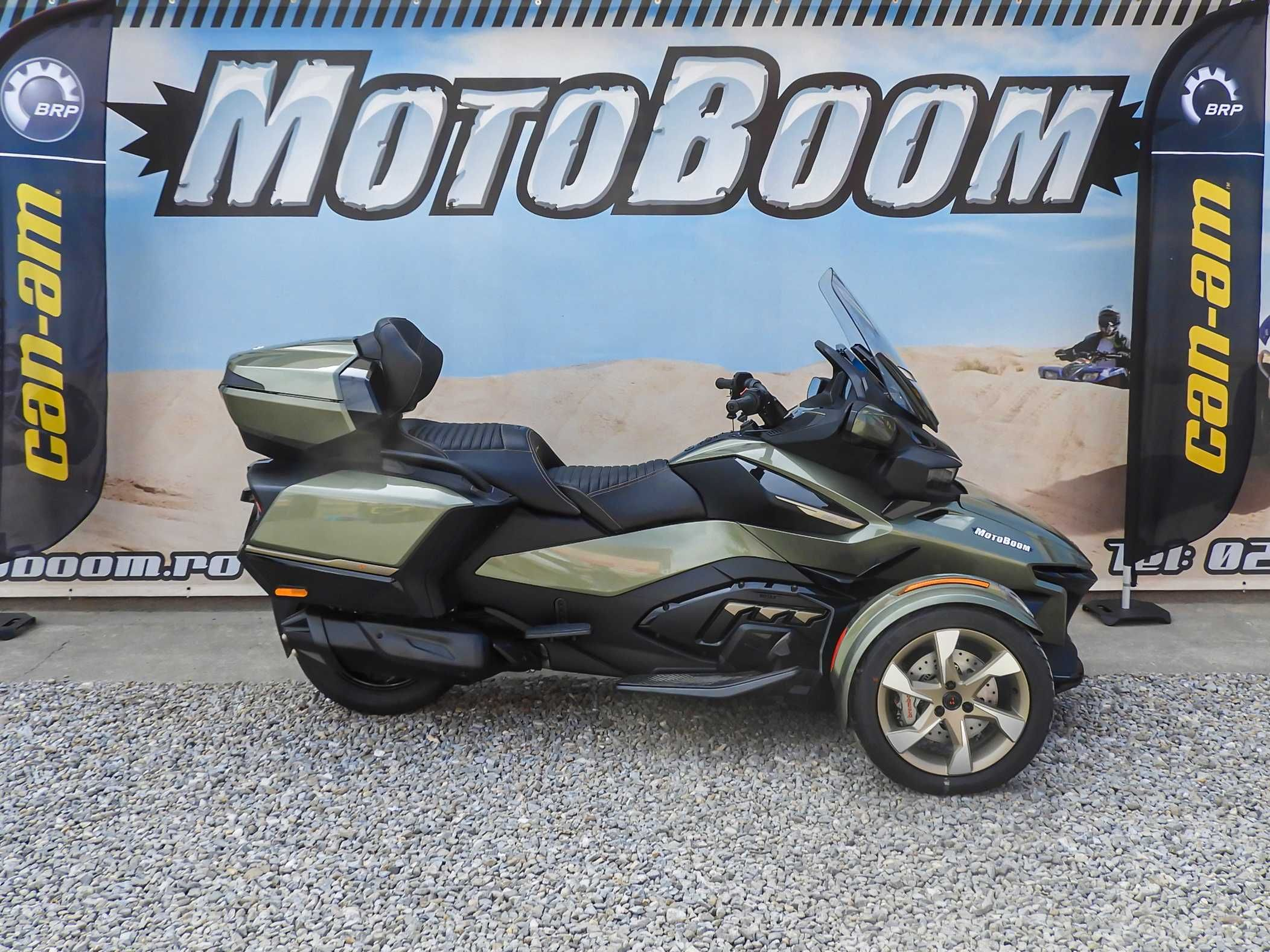 Promo Can-Am Spyder RT SEA TO SKY SE6 2021