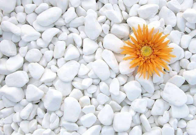 Piatra  marmură rotunjita pebble thassos