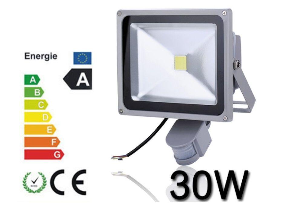 Proiector Plasma LED 30W echivalent 300W cu Senzor miscare proiectoare Pitesti - imagine 1