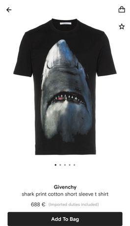 Givenchy Paris Shark printed T-shirt 2020!